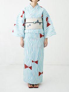 ドゥーブル メゾン「ゆかたと夏きもの展」開催 - カラフルな浴衣の販売やワークショップ   ニュース - ファッションプレス