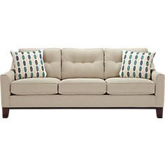picture of Cindy Crawford Home  Hadly Lagoon Sleeper  from Sleeper Sofas Furniture