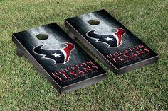 Houston Texans NFL Football Cornhole Game Set Metal Version