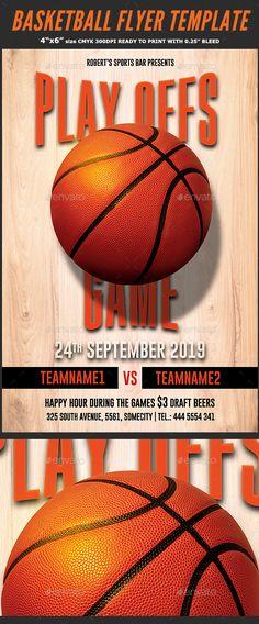 College Basketball Flyer Psd Flyer Templates Pinterest Psd