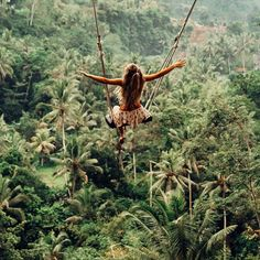 Swinging in the jungle 🌴 via @indyblue_