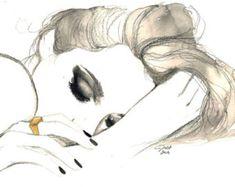 Sueños de oro rosa impresión de la por JessicaIllustration en Etsy