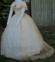Beautiful sheer evening/ball gown!