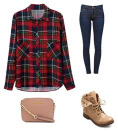 """""""Untitled #16"""" by happy2003 ❤ liked on Polyvore featuring Frame Denim and MICHAEL Michael Kors"""