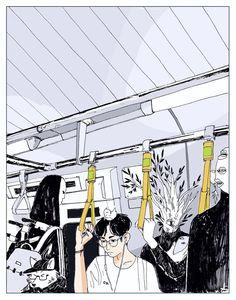 "kinorinsama: "" commute """