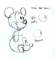 drawing disney mickey mouse how to mickey tutorial steve thompson how to draw Animation Sketches, Cartoon Sketches, Disney Sketches, Disney Drawings, Drawing Sketches, Drawing Disney, Drawing Cartoons, Arte Disney, Disney Art