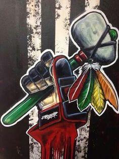 Keep the Faith, Chicago! Blackhawks Hockey, Hockey Teams, Chicago Blackhawks, Hockey Players, Hockey Stuff, Hockey Logos, Rangers Hockey, Nhl Logos, Sports Logos
