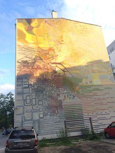 #proembrion Atraktor #streetart #contemporaryart #trafficdesignfest #Gdynia