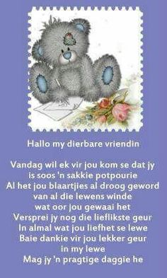 Baie Dankie, Afrikaanse Quotes, Goeie More, Good Morning Wishes, Give It To Me, Lily, Messages, Words, Friendship