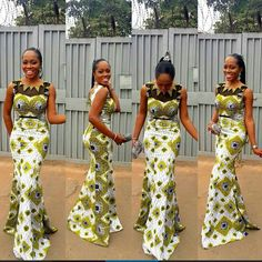 Such a beautiful dress and fit. Love the African print, and the colors give me…