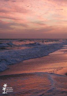 Sunset on St. George Island, Florida #beach #sunset #pink