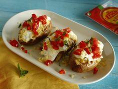 Edam sajttal töltött héjában sült krumpli Recept képpel - Mindmegette.hu - Receptek
