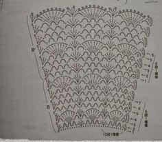 Modelo novo... inspirado em um vestido de tricô industrial, que a cliente me enviou. Estamos encantadas com o resultado!!!! Usei 4 novelo...