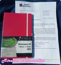 Der Chronobook Buchkalender in der Colour Edition von Avery Zweckform – Bei mir wird es pink.