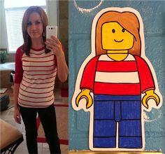Art:  Lego-style Self-Portraits
