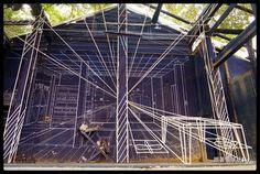 台南景點推薦-藍晒圖強勢回歸在司法宿舍文創園區[ 3D立體藍晒圖 ] | 跟著領隊玩~Sky的美食.景點.住宿.台灣旅遊行程~