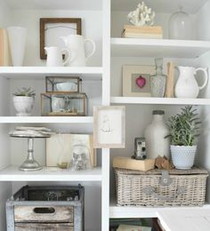 bookcase styling tips nesting with grace 7