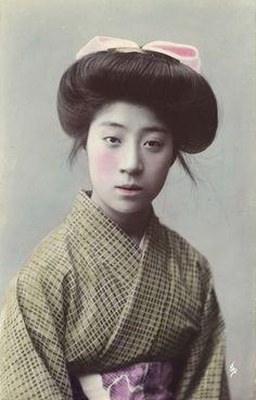 porträtt, kvinna, fotografi, photograph Hand Coloring, Japanese, Fashion, Moda, Japanese Language, Fashion Styles, Fashion Illustrations, Fashion Models