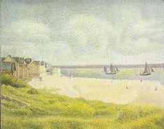 Georges Seurat (1859-1891) La mer au Crotoy