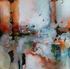 Capable Of Love, 44 x 44 at Patricia Rovzar Gallery by Joseph Maruska
