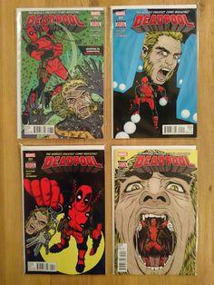 Deadpool (vs Sabretooth Complete Arc 4 Comics)