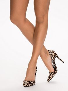 Stiletto Pump - Nly Shoes - Leopard - Party Shoes - Shoes - Women - Nelly.com
