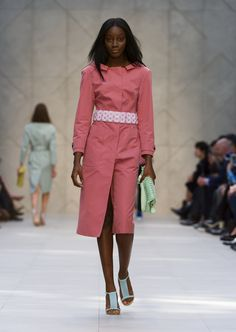 Burberry Prorsum for SS14 at  #lfw London Fashion Week