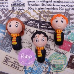 Ponteiras de lápis Harry Potter - Paty's Biscuit