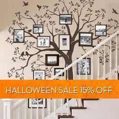 Treppe Familie Baum Wand Aufkleber Baum Wand Aufkleber