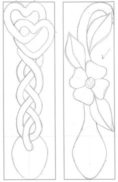 Photo: Macrame and Sweetheart Spoons