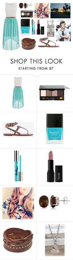 """""""Boardwalk with Harry"""" by sarahorantomlinson ❤ liked on Polyvore featuring maurices, Bobbi Brown Cosmetics, Valentino, Butter London, INIKA, Allurez and West Coast Jewelry"""