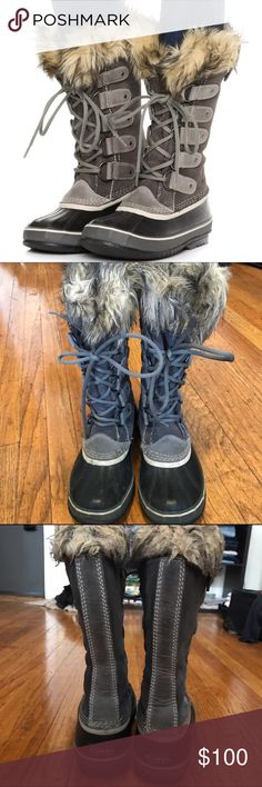 Sorel Joan of Arc Boots Only worn a handful of times last winter. These were given as a Christmas gift last year, but I already had a pair similar. Waterproof for winter and made with real rubber. So cute and goes great with leggings, jeans, skirts, or dresses! ❤️ Sorel Shoes Winter & Rain Boots