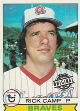 2015 Topps Series 2 Original 1979 #105 Rick Camp Atlanta Braves