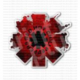 Red Hot Chili Peppers Rock Band Blot Sticker