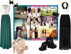 """BFF"" by thebeautifulfreedom on Polyvore"