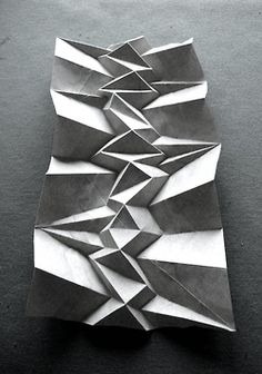 editionaladdictions:    Paper Foldings by Andrea Russo