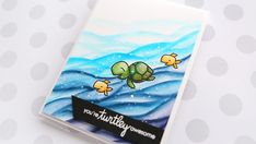 You're Turtley Awesome! – Zig Clean Color Markers & Paper Smooches – kwernerdesign blog