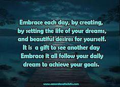 Embrace each day!  www.gwennetwork.org