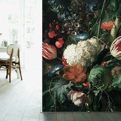 Oud Hollandse muurschildering