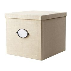 Can. I. Keep. It? (ikea box with lid - great color & texture. Might look good at the bottom shelf of the console)