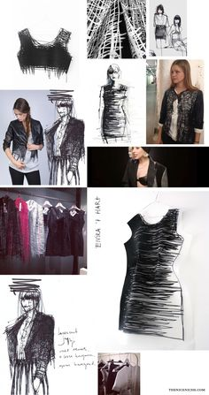 Elvira 't Hart, Fashion Designer & Artist — The Nice Niche - #fashion #design #drawing #style #art