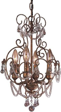 Minka Lavery Minka Lavery Lighting 4 Light Mini Chandelier in Regency Guilded Gold finish Light In The Dark, Traditional Style Decor, Minka Lavery, Light, Mini Chandelier, Gold Gilding, Lighting, Beautiful Bathrooms, Chandelier