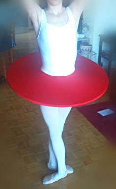 "Costume de ballet : flying saucer tutu ""Anthurium"""