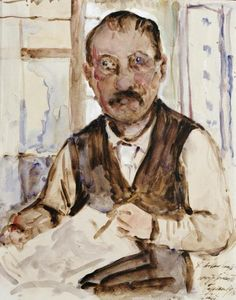 Lovis Corinth - Self Portrait - art prints and posters
