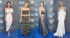 LOOK DAS FAMOSAS: CRITICS' CHOICE AWARDS 2018