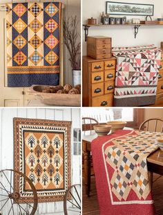 Got Civil war reproductions? See quilts worth cutting them for (+ fabric giveaway!)