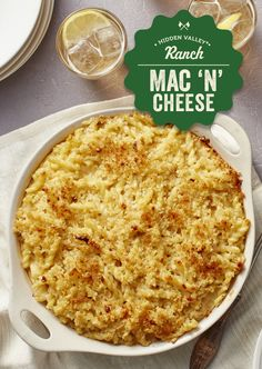 Ranch mac 'n cheese - extra creamy recipe video mac cheese recipes, mac and Cooker Recipes, Crockpot Recipes, Healthy Recipes, Mac Cheese Recipes, Pasta Recipes, Good Food, Yummy Food, Delicious Dishes, Macaroni Cheese