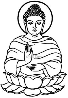 budah   Buddha Purnima Coloring Pages, Buddha Purnima Top 20 Coloring Pages ...