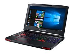 "Acer Predator 15 Gaming Laptop, Core i7, GeForce GTX 1070, 15.6"" Full HD G-SYNC, 16GB DDR4, 256GB SSD, 1TB HDD, G9-593-77WF"