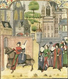 15th C miniature (secondary source) - british library http://www.johnnesfieldsretinue.com/Kit/manuscript.jpg